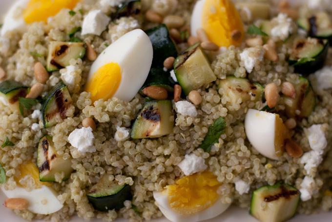 Quinoa and Grilled Zucchini -gluten-free-recipes