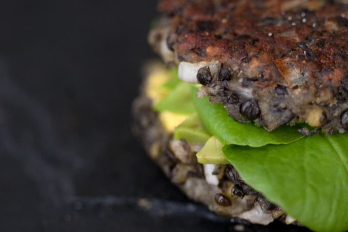 Vegetarian Lentil Burgers -gluten-free-recipe