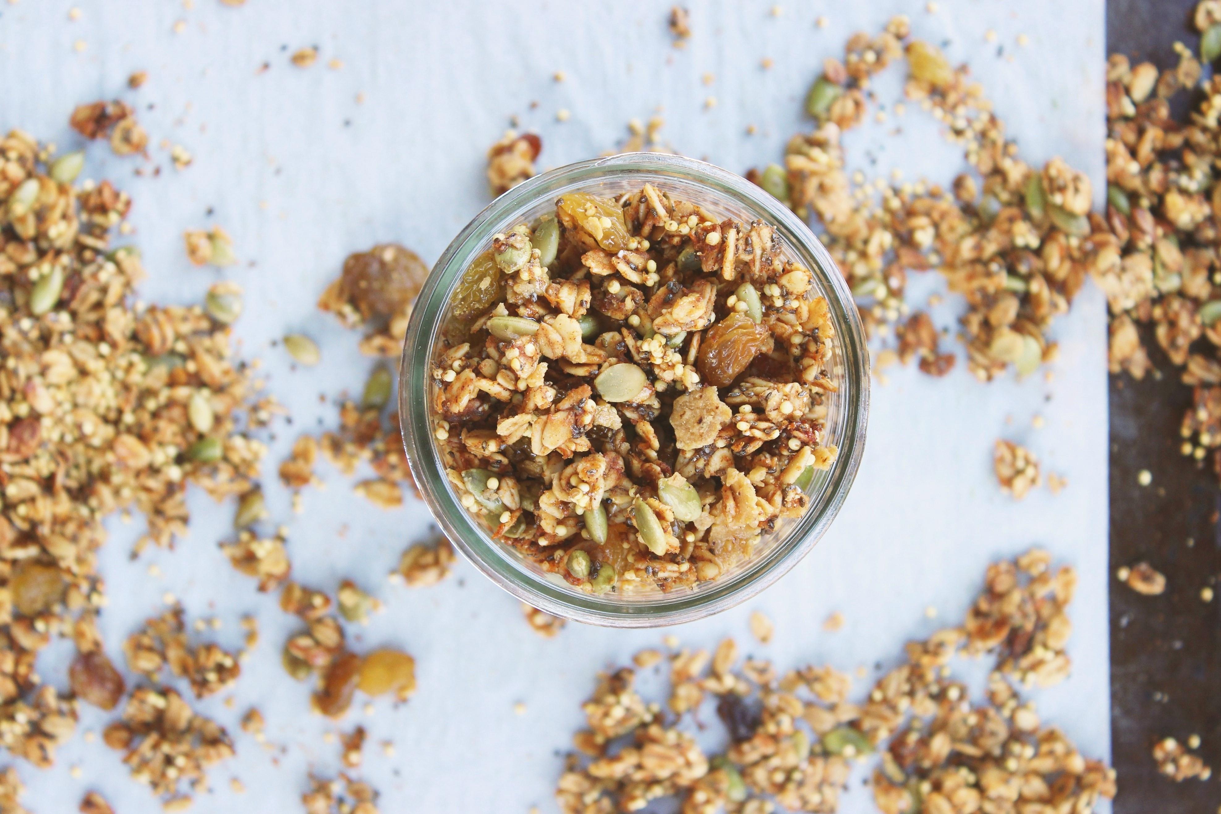 millet-cardamom-sweet-potato-granola-gluten-free-recipes